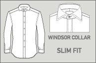T.M. Lewin - Windsor Slim Fit