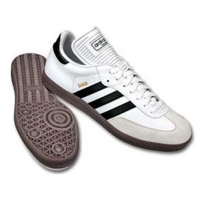 white adidas samba classic indoor