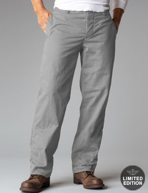 What to wear with grey khakis